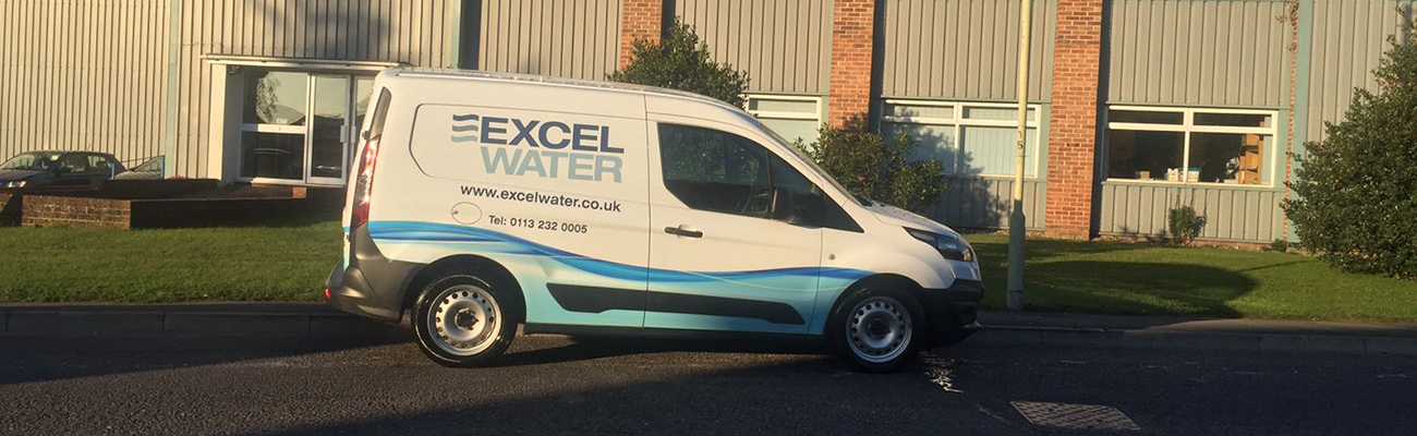 Excel Water Fleet of Vans